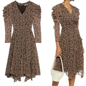 NWT Walter Baker Floral Puff Sleeve Abby Dress